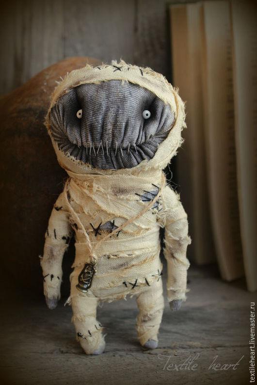 Коллекционные куклы ручной работы. Ярмарка Мастеров - ручная работа. Купить Egyptian mummy.... Handmade. Бежевый, фараон, чердачная