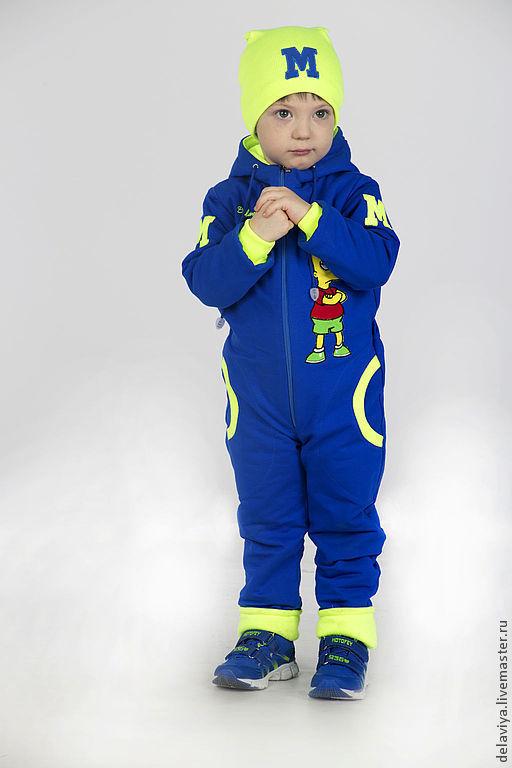 Детский комбинезон, утепленный комбинезон, теплый комбинезон, демисезонный комбинезон, детская одежда, спортивный комбинезон