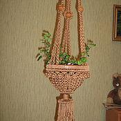 Цветы и флористика ручной работы. Ярмарка Мастеров - ручная работа Кашпо. Handmade.