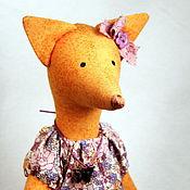 Куклы и игрушки ручной работы. Ярмарка Мастеров - ручная работа Лисичка Тильда. Handmade.