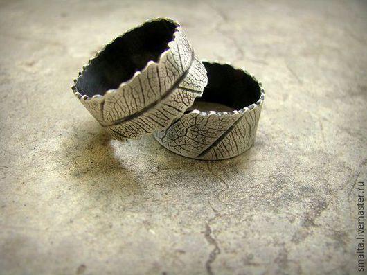 Кольца ручной работы. Ярмарка Мастеров - ручная работа. Купить Кольца серебряные. Handmade. Серебряный, серебро, фактура, кольца на свадьбу
