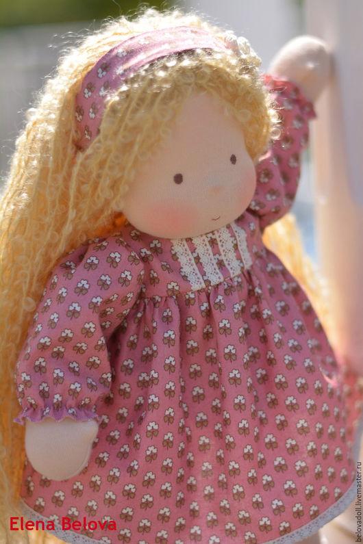 Вальдорфская игрушка ручной работы. Ярмарка Мастеров - ручная работа. Купить Вальдорфская кукла Мика. Handmade. Вальдорфская кукла