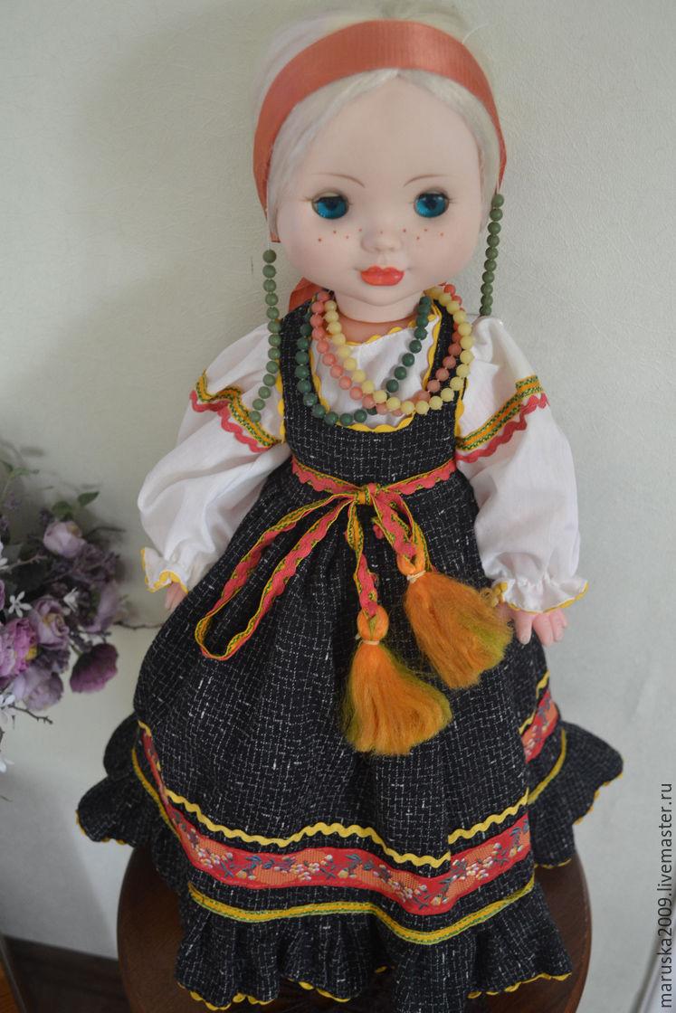 Винтаж: Дуняша, Куклы винтажные, Шахты,  Фото №1