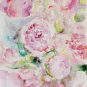 Картины и панно ручной работы. Ярмарка Мастеров - ручная работа Цветочный ветер. Handmade.