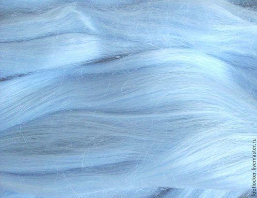 Валяние ручной работы. Ярмарка Мастеров - ручная работа. Купить Рамия волокна для валяния, Sanrise, 10 гр.. Handmade. Голубой