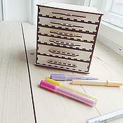 Материалы для творчества handmade. Livemaster - original item Tiered pencil case blank of wood. Handmade.