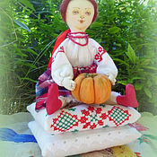 Куклы и игрушки handmade. Livemaster - original item Domovska Ukrainochka - based Tilda Princess and the pea. Handmade.