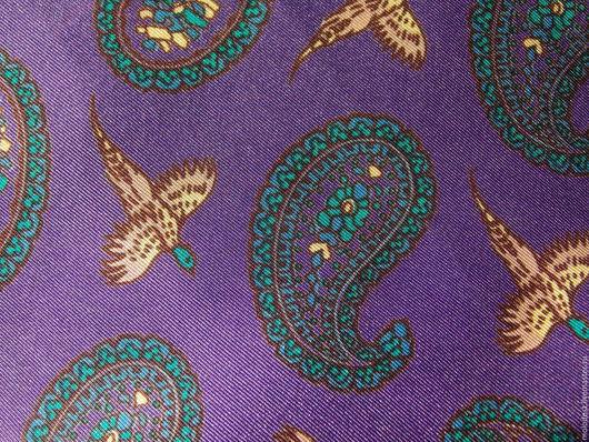 Винтажная одежда и аксессуары. Ярмарка Мастеров - ручная работа. Купить Шейный платок. Шелк 100%. Handmade. Платок шелковый