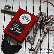 "Сумки и аксессуары handmade. Livemaster - original item Клатч-книга ""FREUD"". Handmade."