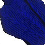 Одежда ручной работы. Ярмарка Мастеров - ручная работа Теплый вязаный свитер-лапша.. Handmade.