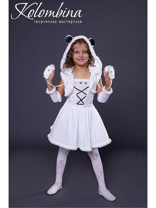 Детские карнавальные костюмы ручной работы. Ярмарка Мастеров - ручная работа. Купить карнавальный костюм белого медведя. Handmade. Белый
