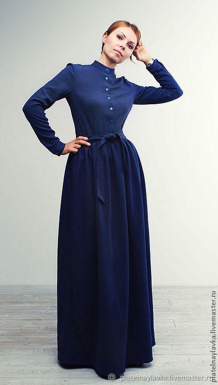 Маруся теплое платье в пол, Платья, Москва,  Фото №1