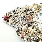 Картины и панно handmade. Livemaster - original item 3D picture of the Sea with shells. Handmade.