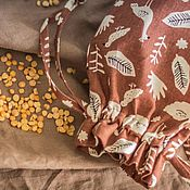 Сувениры и подарки handmade. Livemaster - original item Bag, linen storage bag. Packaging. Acomadate. Ecomerce. Handmade.