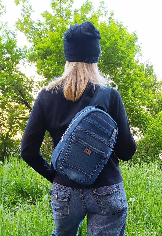 Denim rocket backpack, Backpacks, Saratov,  Фото №1