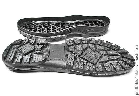 Другие виды рукоделия ручной работы. Ярмарка Мастеров - ручная работа. Купить Подошва для обуви Профессионал. Handmade. Черный