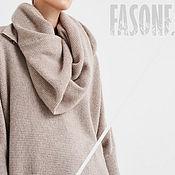 Sweaters handmade. Livemaster - original item Cashmere sweater beige Women`s sweater beige. Handmade.