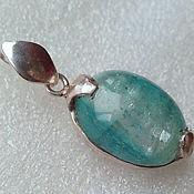 handmade. Livemaster - original item Aquamarine Pendant. Handmade.