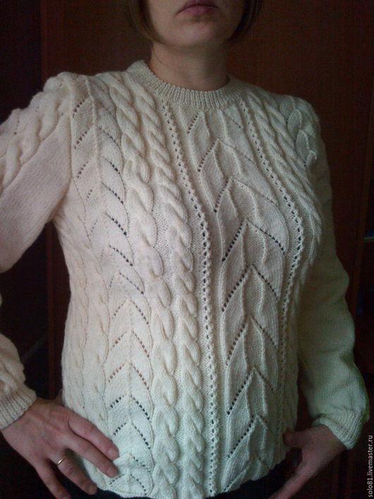 Кофты и свитера ручной работы. Ярмарка Мастеров - ручная работа. Купить Нарядная кофта ручной работы. Handmade. Белый, свитер