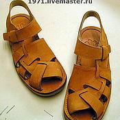 Обувь ручной работы handmade. Livemaster - original item sandals. Handmade.