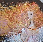 Картины и панно handmade. Livemaster - original item Fairy magic and miracles. Handmade.