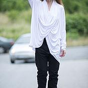 Одежда handmade. Livemaster - original item Tunic dress, Jersey tunic, Tunic long sleeve, EUG. Handmade.