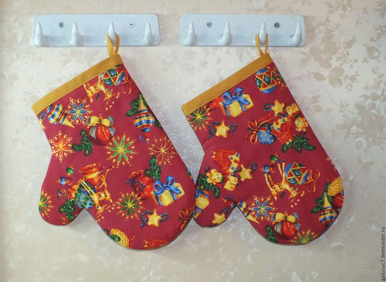 Gloves for hot, Potholders, Lviv,  Фото №1