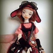 Куклы и игрушки ручной работы. Ярмарка Мастеров - ручная работа Alisha Steampunk doll. Шарнирная кукла. Стимпанк. Handmade.