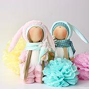 Куклы и игрушки ручной работы. Ярмарка Мастеров - ручная работа Плюшевые ясли. Зая.. Handmade.