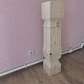 Для дома и интерьера ручной работы. Ярмарка Мастеров - ручная работа Точённые фрезерованные столбы. Handmade.