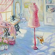 """Картины и панно ручной работы. Ярмарка Мастеров - ручная работа Картина """"Кутюрье"""". Handmade."""