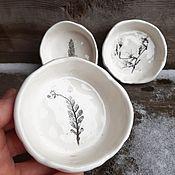 Посуда handmade. Livemaster - original item Piala, oreshnitsa, mananita, gravy boat on 50ml. Handmade.
