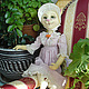Коллекционные куклы ручной работы. Ярмарка Мастеров - ручная работа. Купить Кукла Кошка Ирен мечтательница. Handmade. Будуарная кукла
