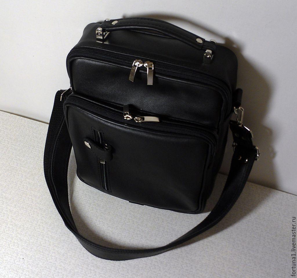 Сумка кожаная мужская 180, Мужская сумка, Санкт-Петербург,  Фото №1