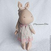 Куклы и игрушки ручной работы. Ярмарка Мастеров - ручная работа Лошадка МарГоша - мягкая игрушка. Handmade.