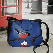 Сумки и аксессуары handmade. Livemaster - original item Postman`s bag: leather