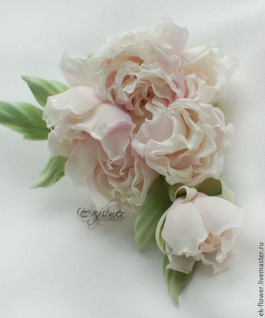 """Цветы ручной работы. Ярмарка Мастеров - ручная работа. Купить Цветы из шелка. Цветы из ткани. Роза """"Мелисса"""".. Handmade. Цветы"""