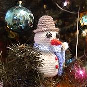 Куклы и игрушки ручной работы. Ярмарка Мастеров - ручная работа Снеговичок Мартин (амигуруми). Handmade.