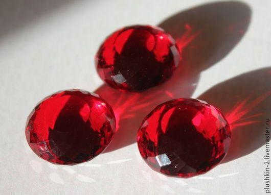 Для украшений ручной работы. Ярмарка Мастеров - ручная работа. Купить Топаз красный 39.70 карат. Handmade.