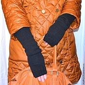 Аксессуары handmade. Livemaster - original item Fingerless gloves stylish and warm)))). Handmade.