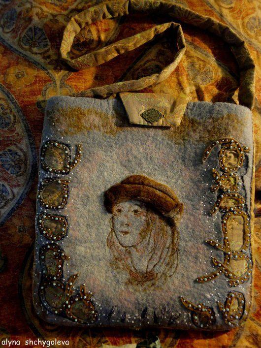 """Женские сумки ручной работы. Ярмарка Мастеров - ручная работа. Купить сумка """"Урбино Рафаэля.Зима/ """"Urbino di Raffaello.Inverno"""". Handmade."""
