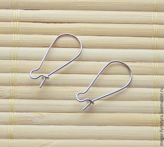 Для украшений ручной работы. Ярмарка Мастеров - ручная работа. Купить Швензы крючки 25 х 11 мм. Handmade.