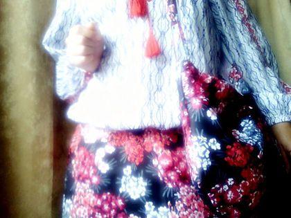 Юбки ручной работы. красивущие_юбко-сумко (комплект). нюра & зоря. Интернет-магазин Ярмарка Мастеров. Сума, удобная сумка