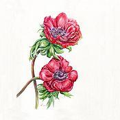 Картины и панно handmade. Livemaster - original item Watercolours