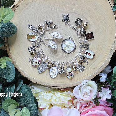 Decorations handmade. Livemaster - original item Jewelry set