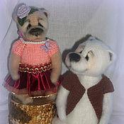 Куклы и игрушки ручной работы. Ярмарка Мастеров - ручная работа Семейка Мишкиных. Handmade.