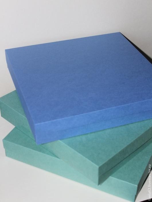 Упаковка ручной работы. Ярмарка Мастеров - ручная работа. Купить Коробка 30-30. Handmade. Разноцветный, коробочка, коробка для рукоделия