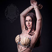 Одежда handmade. Livemaster - original item Costume for belly dance mermaid. Handmade.