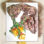 Украшения ручной работы. Ярмарка Мастеров - ручная работа Шейный платочек. Handmade.