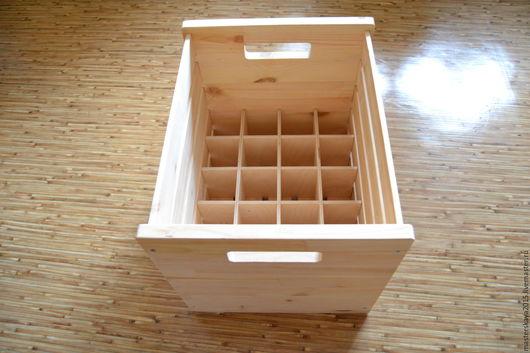 Корзины, коробы ручной работы. Ярмарка Мастеров - ручная работа. Купить Деревянный ящик. Handmade. Бежевый, ящик для хранения